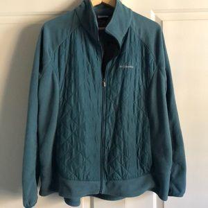 Women's Plus Columbia Fleece Jacket 2x